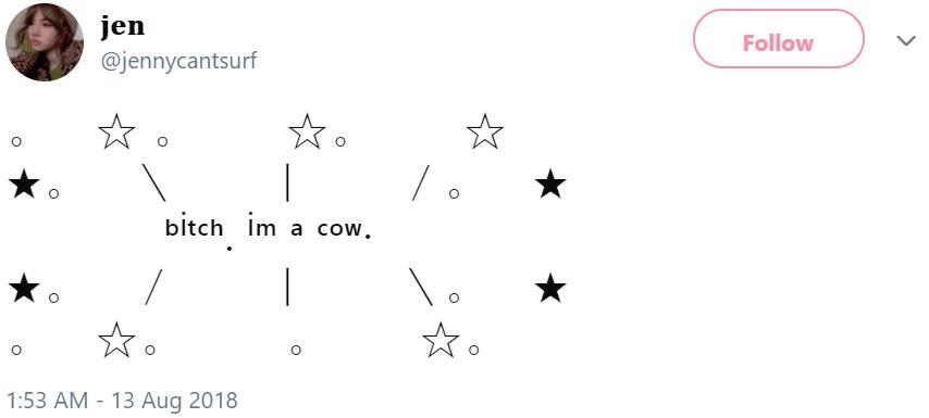 Bitch, I'm a Cow