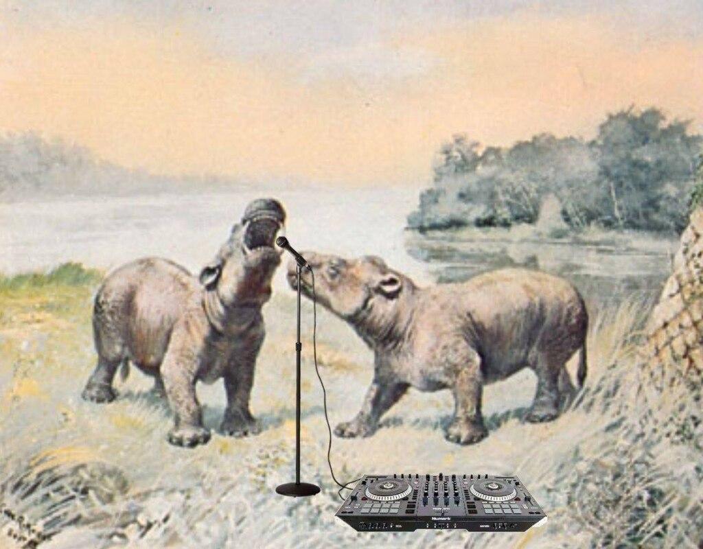 Доисторические животные-музыканты