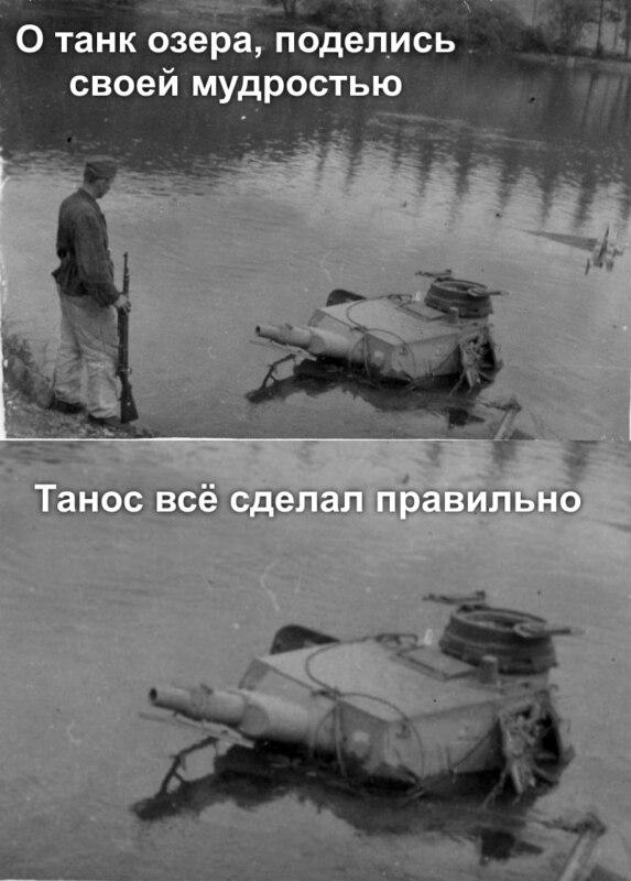 Мудрый танк озера