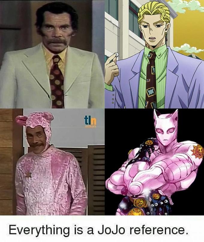 Is This a JoJo Reference?