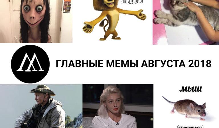 Главные мемы августа 2018