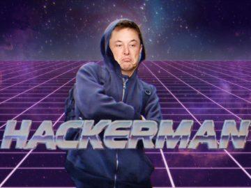 Илон Маск на конференции хакеров