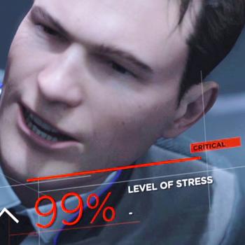 Уровень стресса 99%