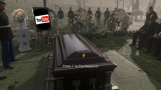 Press F to Pay Respects YouTube