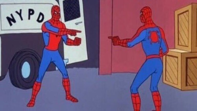 Картинки по запросу человек паук мем