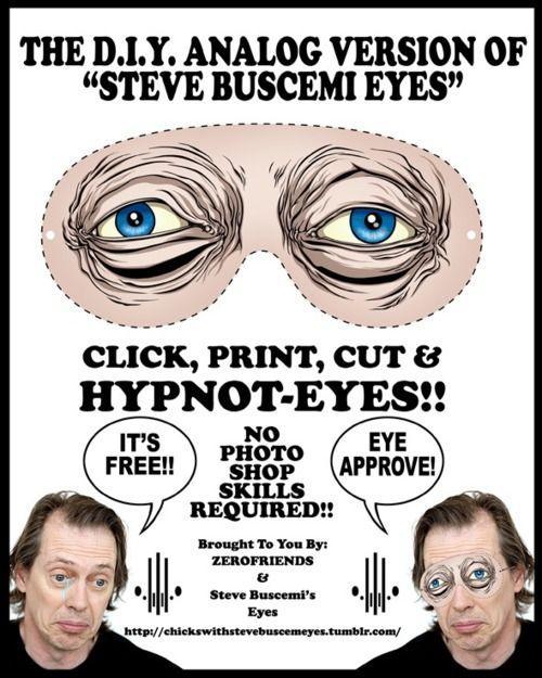 Глаза Стива Бушеми