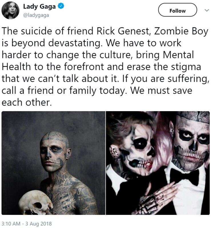 Zombie Boy умер