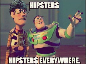 hipsters everywhere