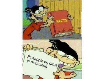 Ананас в пицце это отвратительно