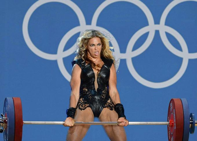 бейонсе олимпийская тяга