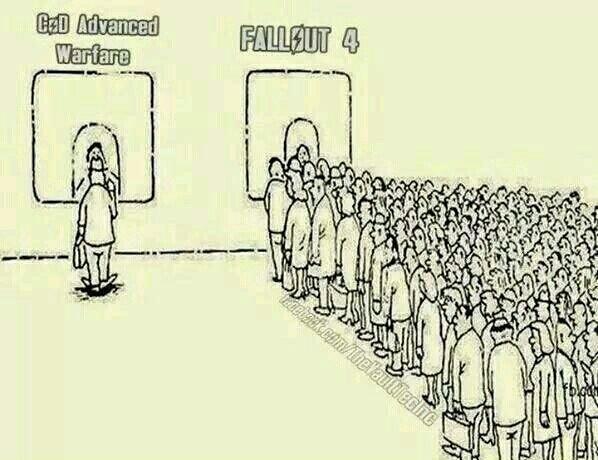 COD vs Fallout