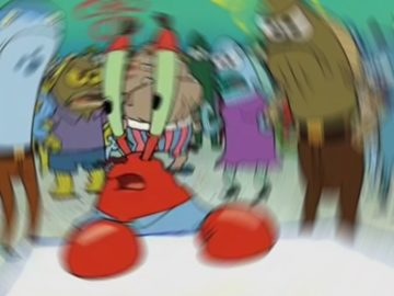 confused krabs template