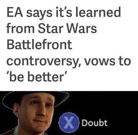 EA doubt