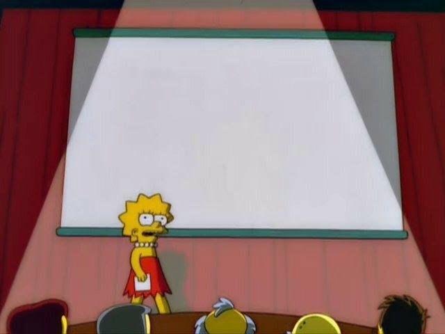 Лиза Симпсон я бы сходил на такую лекцию