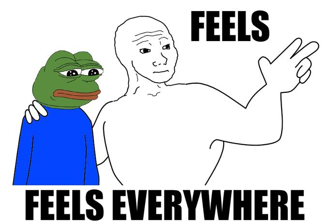 feels everywhere