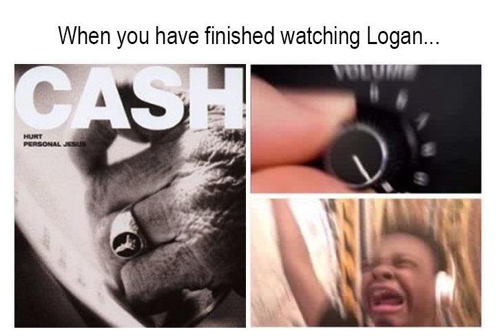 Finished Watching Logan