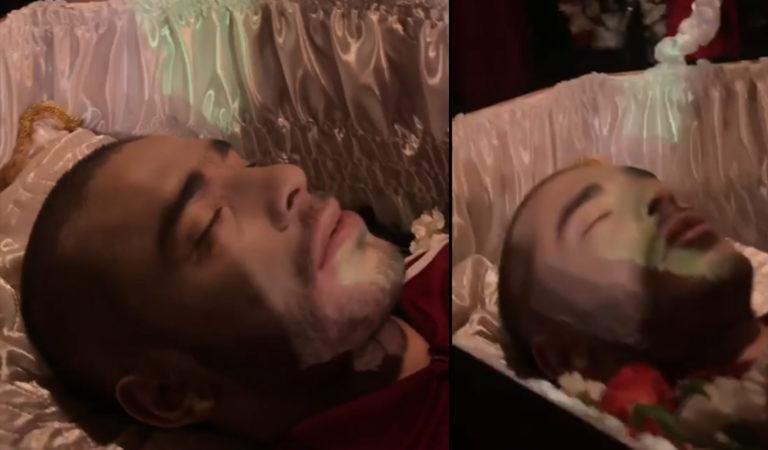 В Москве прошли похороны Хаски. Рэпер не умер