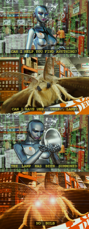 Мемы с молью