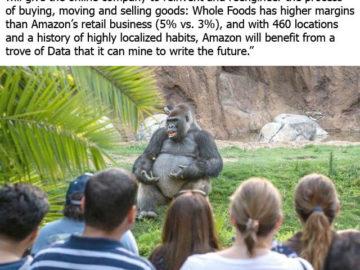 Мысли о сделке Amazon и Whole Foods