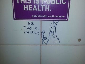 Нет. Это Патрик!