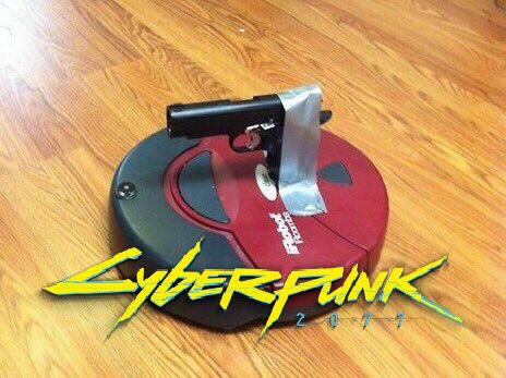 pistol cyberpunk