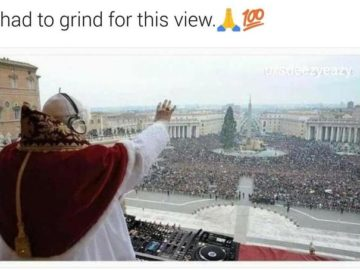 Pope Grindin