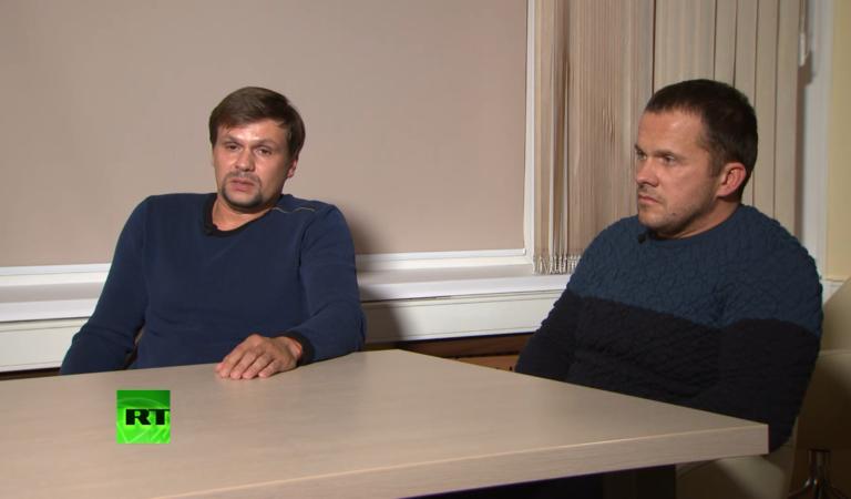 «Полный отрыв и недорогие духи»: Петров и Боширов дали интервью RT. В соцсетях не верят и пилят мемы