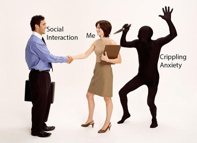 Stock Photo Backstabber - Social Interaction