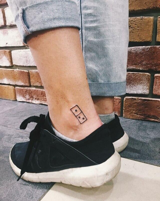 Татуировки Domino's