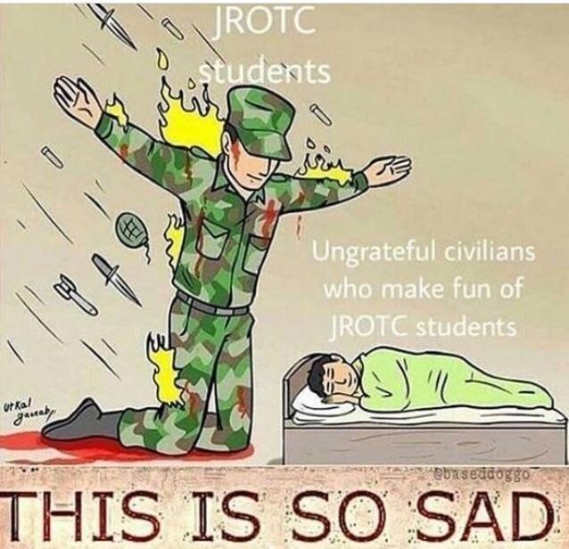 The Silent Protector - JROTC