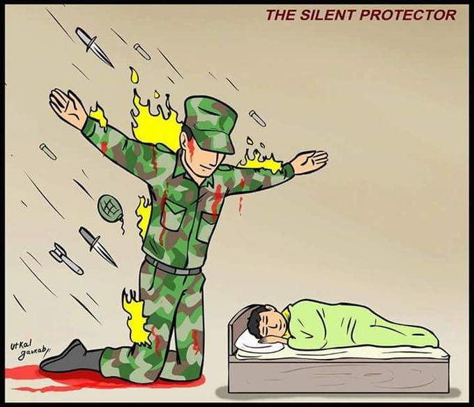 The Silent Protector template