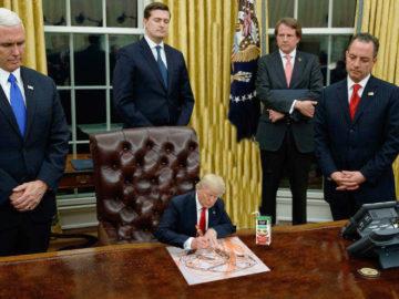 Tiny Trump Big People