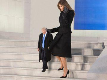 Tiny Trump Melania