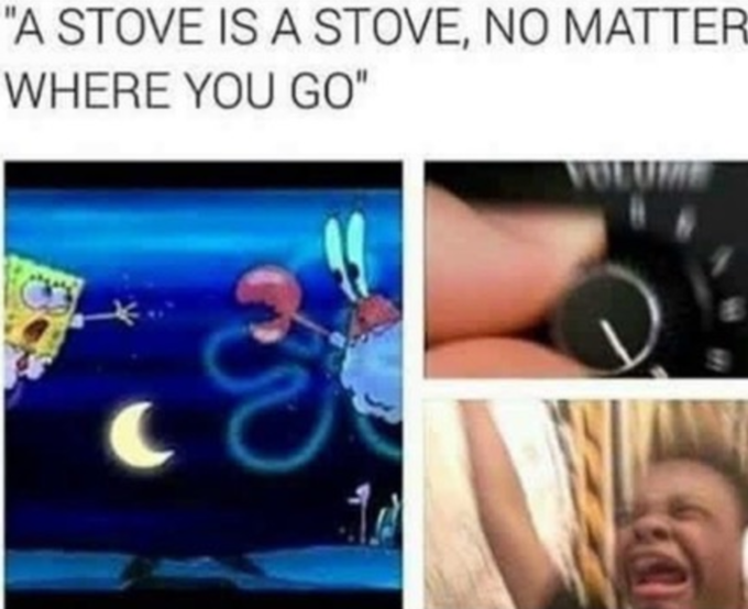 Turn Up the Volume - Stove is a Stove