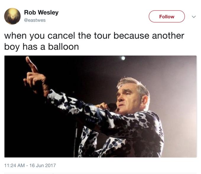 When Another Boy Has A Balloon Tour'