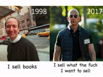 1998 Я продаю книги / 2017 Я продаю все что мать его захочу