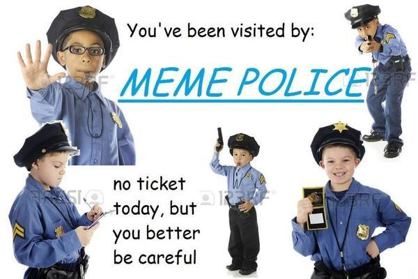 Полиция Мемов