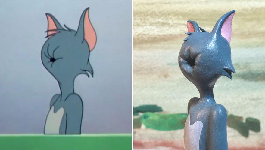 Необычные скульптуры Тома