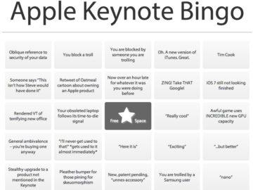 Apple Бинго