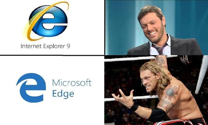 Internet Explorer vs. Microsoft Edge