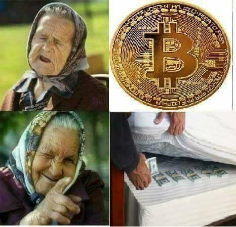 Babushka - Bitcoin vs Матраса