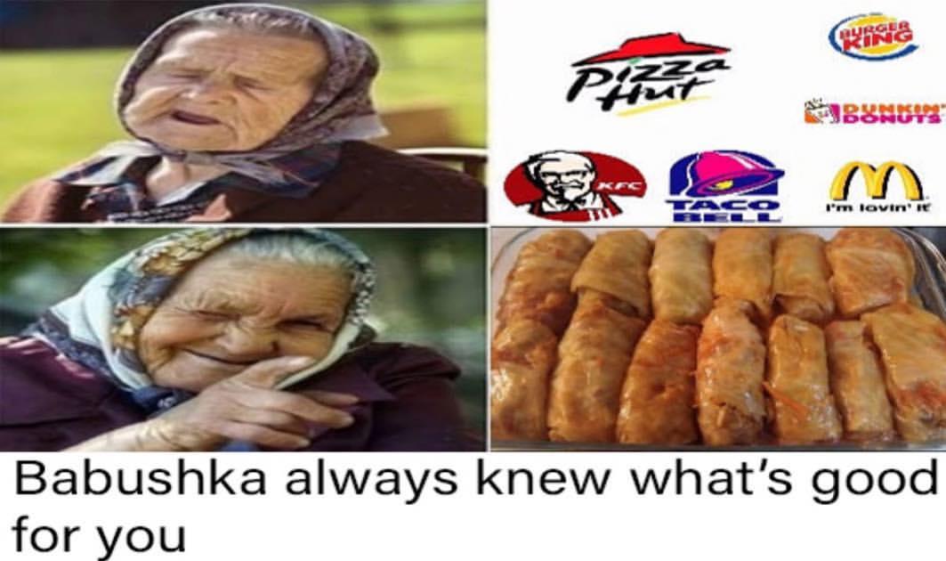 Babushka - Бабушка всегда знала, что для тебя лучше