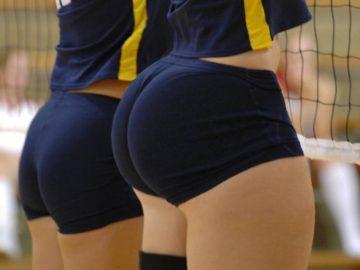 Волейбольные попки