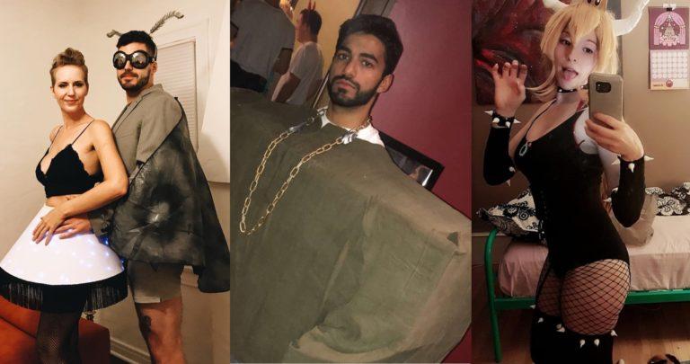 Мемные костюмы на Хэллоуин