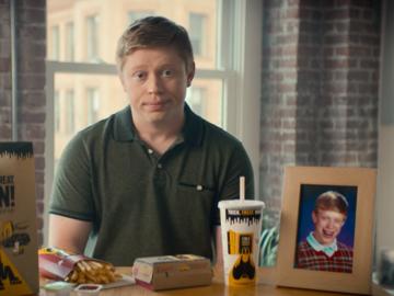 McDonald's раскопал Неудачника Брайана для своей рекламы