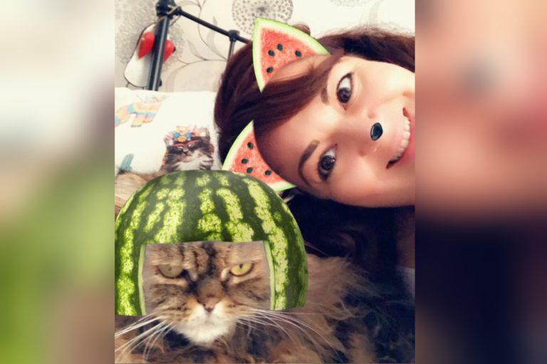 Кошачьи фильтры Snapchat