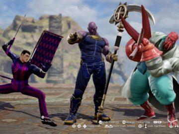 Созданные игроками персонажи Soul Calibur