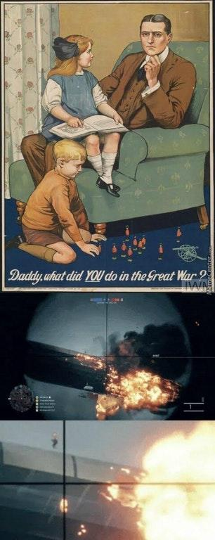 Daddy, What Did You Do In the Great War - Battlefield 1