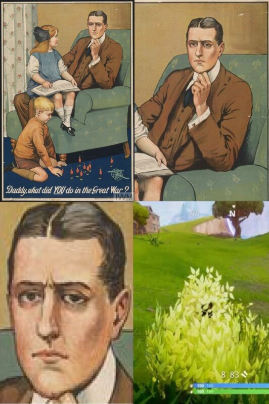 Daddy, What Did You Do In the Great War - Hiding