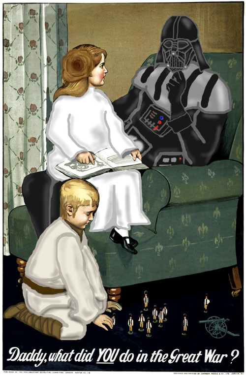 Daddy, What Did You Do In the Great War - Star Wars